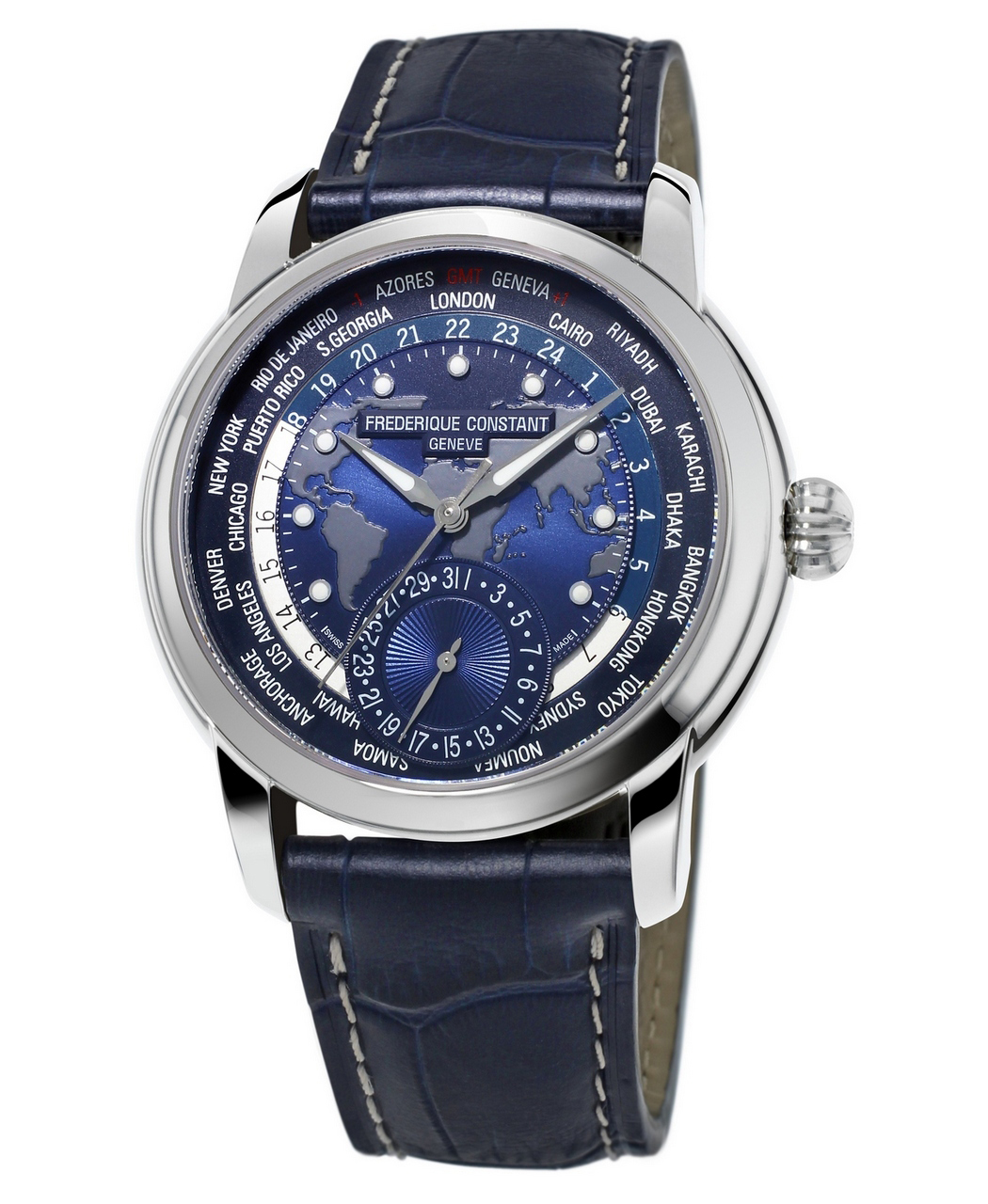 Frederique Worldtimer Classics Manufacture - Worldtimer Collection