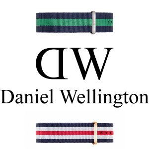 CINTURINI DANIEL WELLINGTON IN NYLON